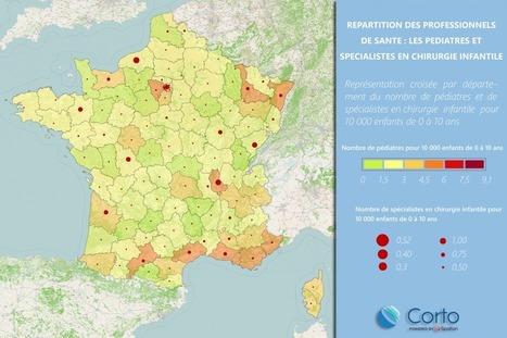 REPARTITION DES PROFESSIONNELS DE SANTE EN FRANCE | Spallian | osteopathie | Scoop.it