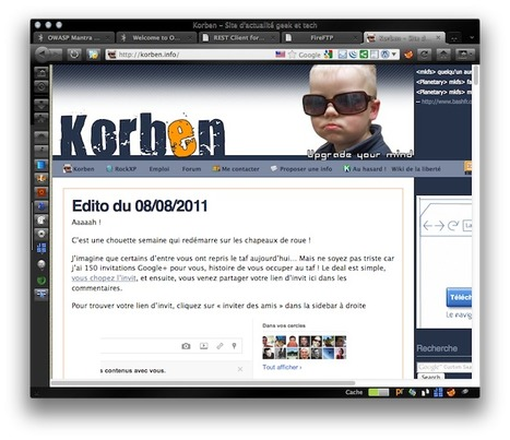 Mantra – Le navigateur des hackers | Korben | Time to Learn | Scoop.it