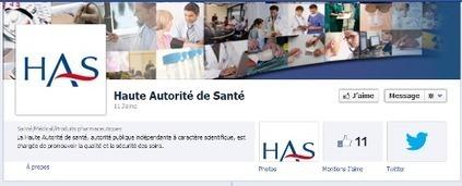 La Haute Autorité de Santé marque [elle aussi] sa présence sur les médiassociaux | Communautés | Scoop.it