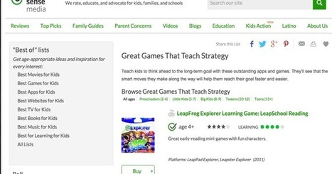 5 Great Strategy Games to Teach Kids Strategic Thinking ~ Educational Technology and Mobile Learning | Games and education | Scoop.it