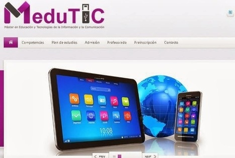 MeduTIC: Máster online sobre Educación y TIC | Educación y TIC | Scoop.it