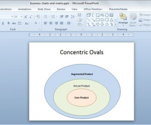 Drawing Concentric Circles in PowerPoint 2010 | Powerpoint template | Scoop.it