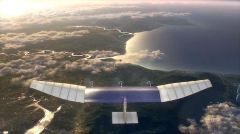 Facebook to use drones, beam Internet from the sky: Mark Zuckerberg | WebSpydr | WebSpydr | Scoop.it