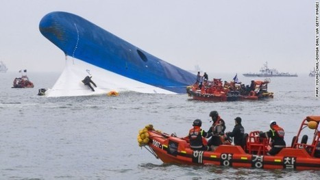 Theories on how a South Korean passenger ferry suddenly sank | Geography 200 | Scoop.it