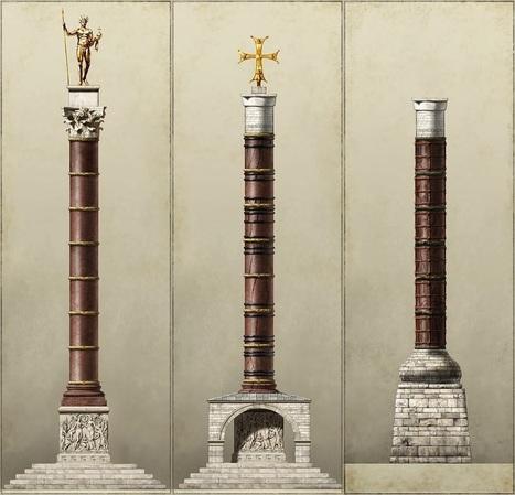 Γραφιστική αναπαράσταση της Αυτοκρατορικής Κωνσταντινούπολης | omnia mea mecum fero | Scoop.it