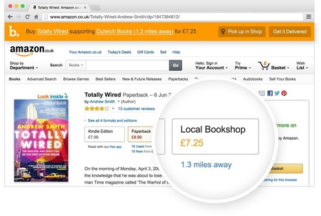 Browse Amazon, buy from your local bookshop | I'm Bringing Techy Back | Scoop.it