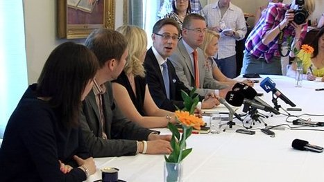 Katainen resumes 'six-pack' government talks | Finland | Scoop.it