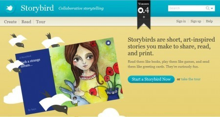 Storybird: A Collaborative Storytelling Tool | Transmedia: Storytelling for the Digital Age | Scoop.it