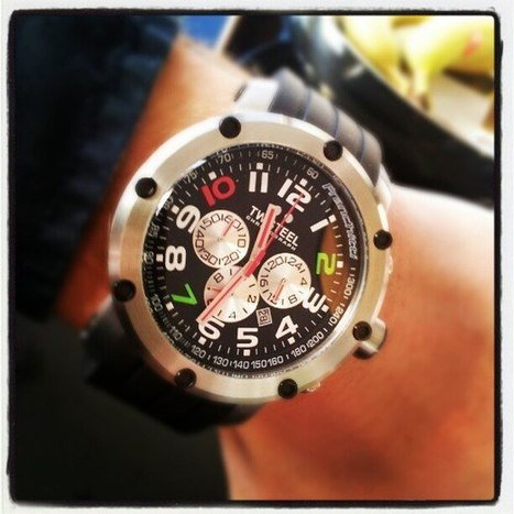 Big Time image of the Dario Franchitti Grandeur Tech edition TW607 | TW608 | TW Steel Watches | Scoop.it
