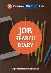 Book Review: Job Search Diary | ResumeWritingLab | Savings During Summer Season | Scoop.it