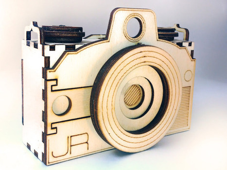 Original Pin: A Customizable Wood Pinhole Camera You Build Like a 3D Jigsaw Puzzle   Alternative photography   Scoop.it