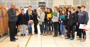Espalion. Les collégiens en visite d'entreprise   Quoi de neuf dans les collèges du Nord Aveyron ?   Scoop.it