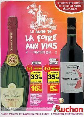 Auchan met le paquet pour sa foire aux vins de printemps 2016.   Vos Clés de la Cave   Scoop.it