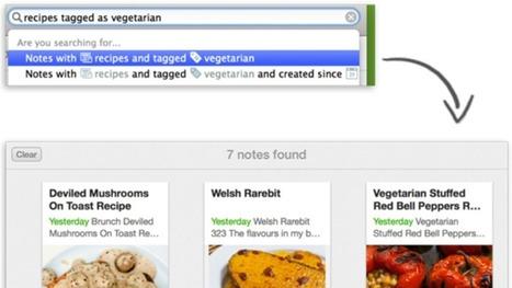 Evernote Adds a Smarter, More Natural Way to Search Your Notes   L'actualité du monde des tablettes   Scoop.it