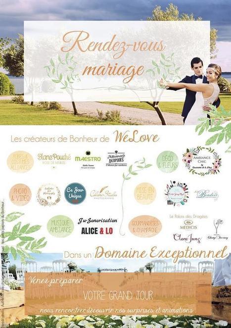 Domaine des Moures : le Rendez-vous Mariage de We Love - | Dragée -Décoration  Mariage | Scoop.it