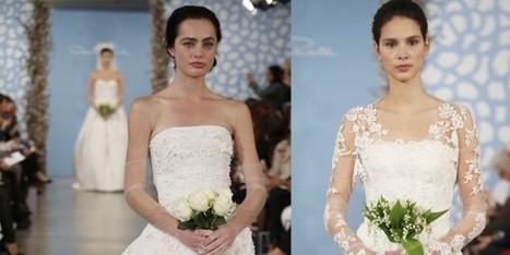 Gli abiti da sposa piu' belli per il 2014 - Sfilate | fashion and runway - sfilate e moda | Scoop.it