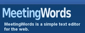 MeetingWords: Realtime Collaborative Text Editing | Τάξη 2.0 | Scoop.it
