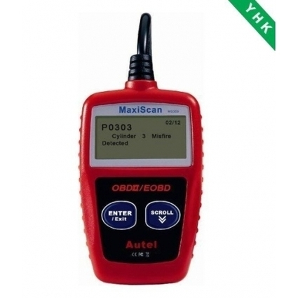 Autel MaxiScan MS309 OBDII, EOBD CAN OBDII Code Reader, maxiscan ms309 review- US$36.50   launch431   Scoop.it