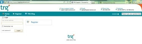 TRG International unveils the latest innovation of its customer support service | TRG International | Scoop.it
