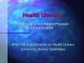 Are you health literate?Health literacy the missing link in patient-physician communication | Doctor Data | Scoop.it