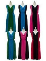 Wholesale Ladies Colorblock Maxi Dress PLUS SIZE - at - AllTimeTrading.com   Winter Gloves   Scoop.it