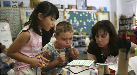 Many Schools Teach Engineering in Early Grades - NYTimes.com | Professional Learning for Busy Educators | Scoop.it