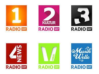 New logos: SRF radio channels | Corporate Identity | Scoop.it