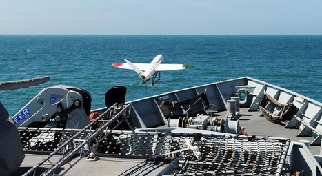 3D Printed UAV Launched from Royal Navy Ship | Unmanned Systems Technology | Geomatics | Scoop.it