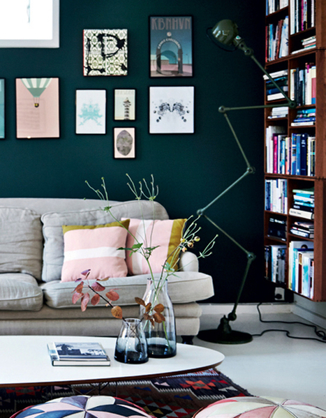 Happy Interior Blog: Home Tour: Colourful Stylist Home In Denmark | Interior Design & Decoration | Scoop.it