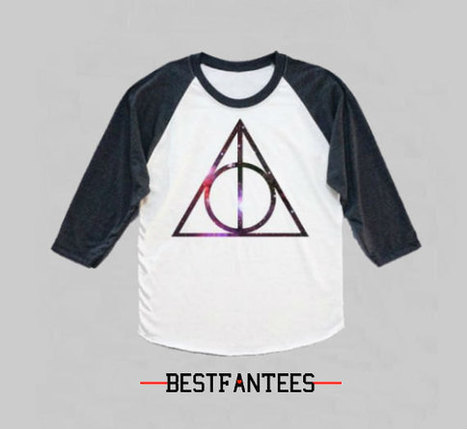 Deathly Hallows HARRY POTTER Long Sleeve Shirt Unisex | Harry Lover | Scoop.it