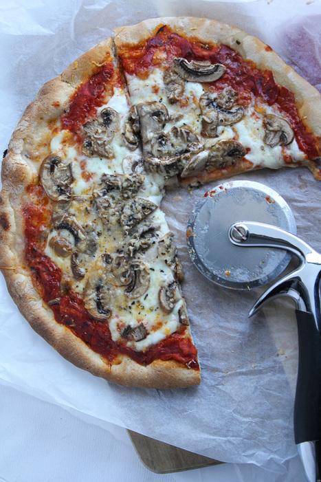 Pizza funghi - Vertruffelijk | La Cucina Italiana - De Italiaanse Keuken - The Italian Kitchen | Scoop.it