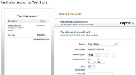 ASP.NET MVC PayPal Integration   .net   Scoop.it