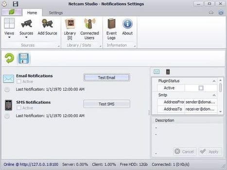 Webcam Surveillance Software to View Webcam Remotely: Netcam Studio | Time to Learn | Scoop.it