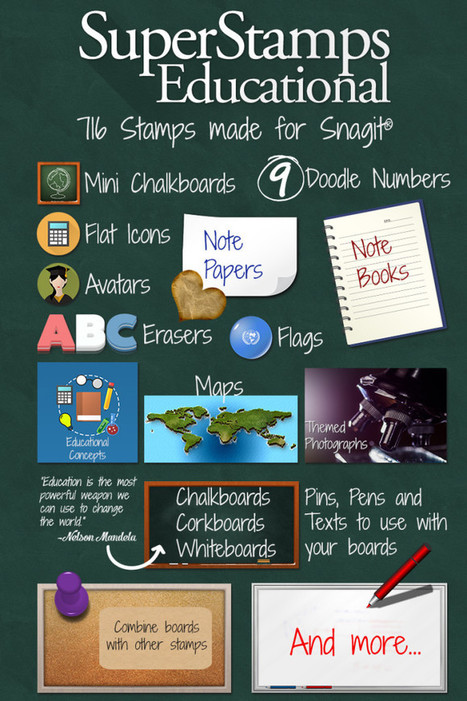 SuperStamps EDU out now! | Snagit Stamps | Scoop.it