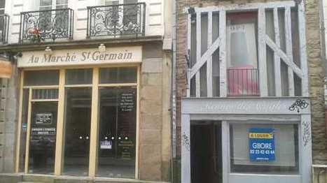 Le commerce souffre dans les centres des villes bretonnes | Portail Veille Economique Bretagne | Scoop.it