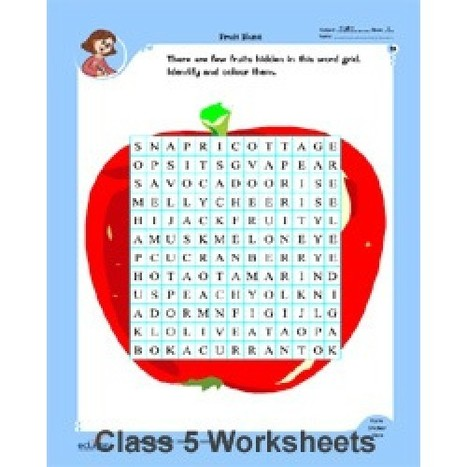 Free english worksheets for class 5
