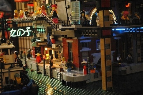 LEGO Model of the Day: Urban Density Gone Bad | Year 10 Geography - Environmental Management & Change | Scoop.it