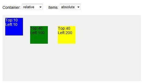 La propriété; CSS position | html5 websites curation | Scoop.it