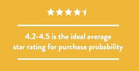 Une notation moyenne de 5 étoiles sur 5 n'inspire pas confiance aux consommateurs | Chiffres clés du numérique | Scoop.it
