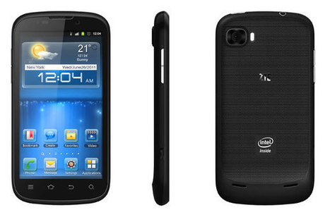 ZTE Grand X IN es oficial con Intel Medfield y Android 4.0 | Mobile Technology | Scoop.it