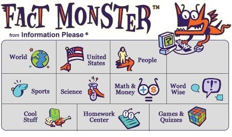 Fact Monster: Online Almanac, Dictionary, Encyclopedia, and Homework Help | FactMonster.com | Online Teaching and Learning Resources | Scoop.it