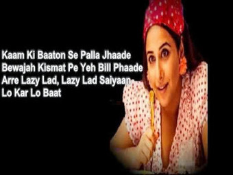 Latest Hindi Lyrics of Bollywood Movies: Lazy Lad Lyrics - Ghanchakkar (2013) - Richa Sharma, Amit Trivedi | Bollywood and Punjabi Lyrics | Scoop.it