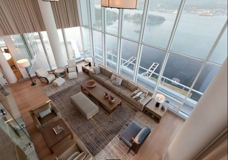 Contemporary Penthouse Interior Design in Vancouver by Robert Bailey | What Surrounds You | Scoop.it