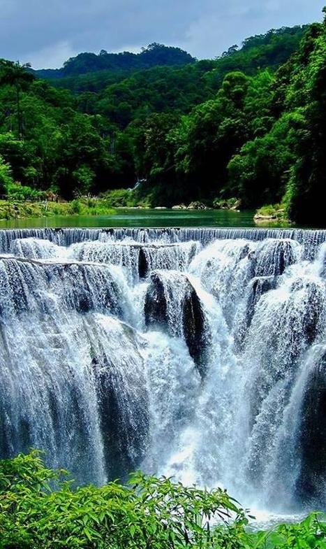 Twitter / DiscoveryImages: Shifen Waterfall, Taiwan ... | Waterfalls | Scoop.it