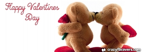 Kissing Teddy Bears Happy Valentines Day Facebook Cover - CrazyFbCovers.com - Facebook Covers & Facebook Profile Covers | Crazy Fb Covers | Scoop.it
