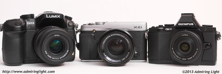 Mirrorless Battle: OM-D vs GH3 vs X-E1 |  Jordan Steele | Fuji X-Pro1 | Scoop.it