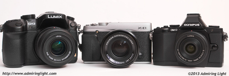 Mirrorless Battle: OM-D vs GH3 vs X-E1 |  Jordan Steele | Photography Gear News | Scoop.it