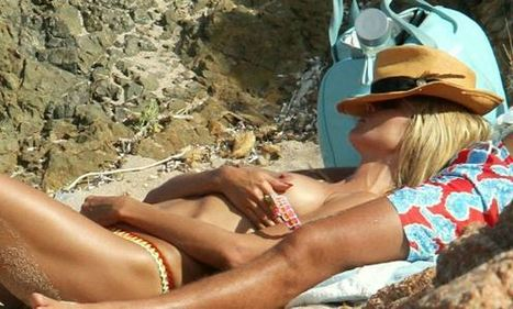 Photos : Heidi Klum seins nus en Sardaigne | Radio Planète-Eléa | Scoop.it