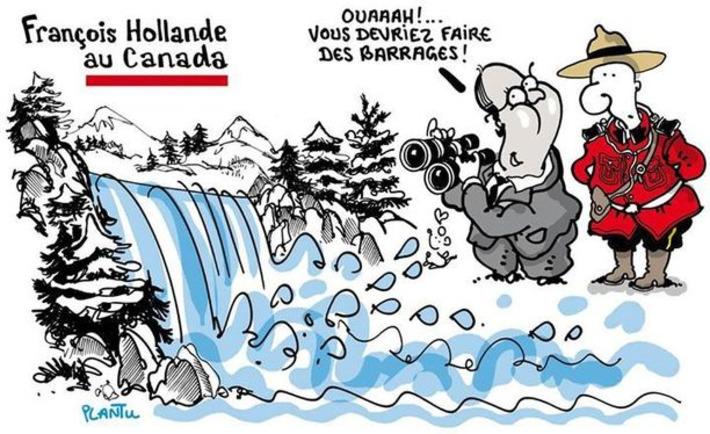 François Hollande au Canada   Baie d'humour   Scoop.it