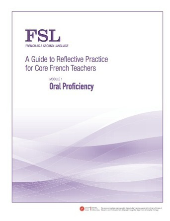 A Guide to Reflective Practice for Core French Teachers - FSL | Français Langue Seconde | Scoop.it
